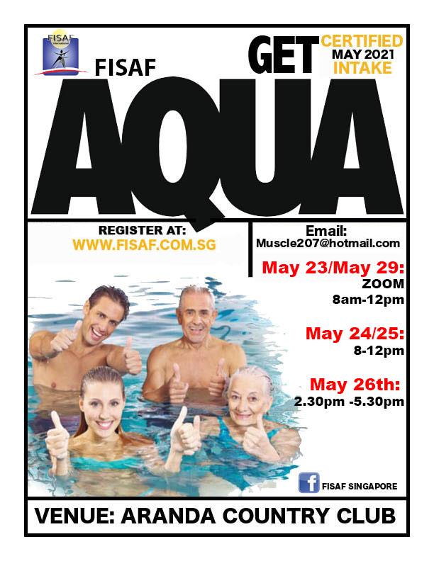 FISAF Aqua Instructor Certification May 2021