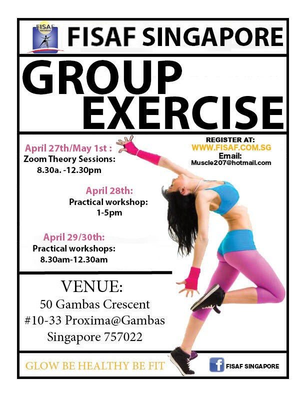 FISAF Group Exercise Certification April 2021